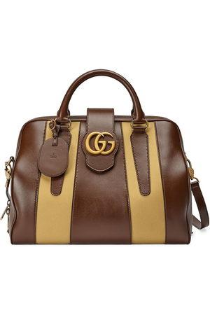 Gucci Men Suitcases - GG Marmont logo-plaque duffle bag