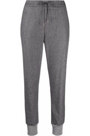 Fabiana Filippi Women Trousers - Tapered virgin wool-blend trousers