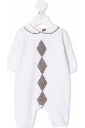 LITTLE BEAR Diamond virgin wool pyjamas