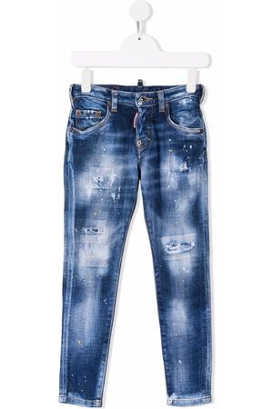 Dsquared2 Boys Skinny - TEEN mid-rise skinny jeans