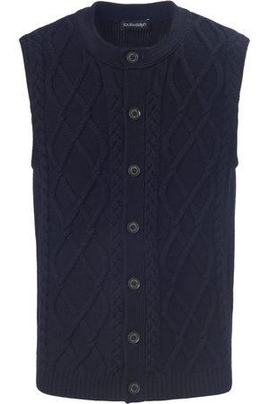 Louis Sayn Men Waistcoats - Knitted waistcoat in new milled wool size: 38