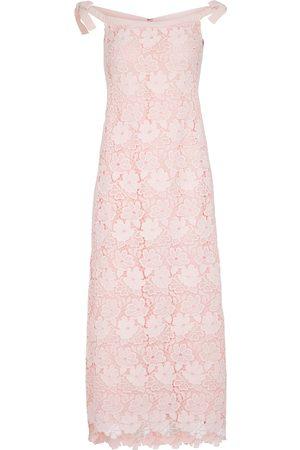 Giambattista Valli Boatneck lace dress