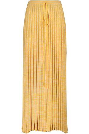 CHRISTOPHER ESBER Ribbed-knit maxi skirt