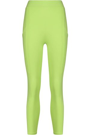 LIVE THE PROCESS Crystal high-rise cropped leggings