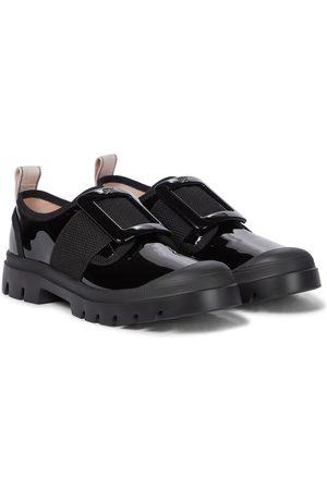 Roger Vivier Vivier Desert patent leather shoes