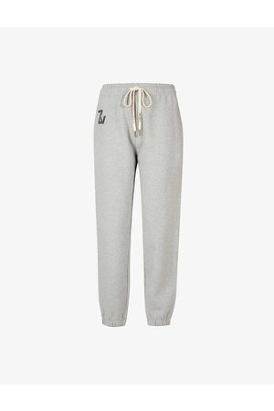 Zadig & Voltaire Women Sports Trousers - Steevy cotton-jersey jogging bottoms