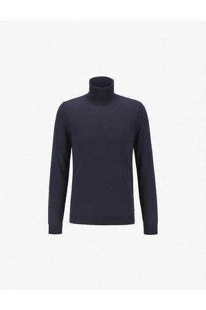 HUGO BOSS Men Turtlenecks - Turtleneck wool jumper