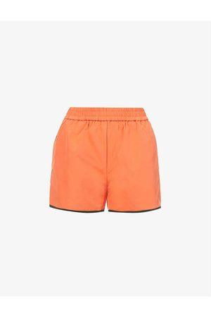 Amy Lynn Women Trousers - Ellie high-rise shell shorts