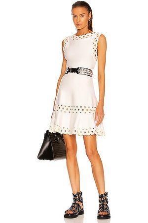 Alaïa Edition Sleeveless Dress in Blanc