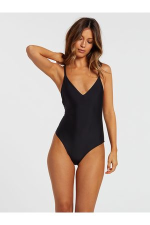 Volcom Women's Simply Solid 1 piece Swimsuit
