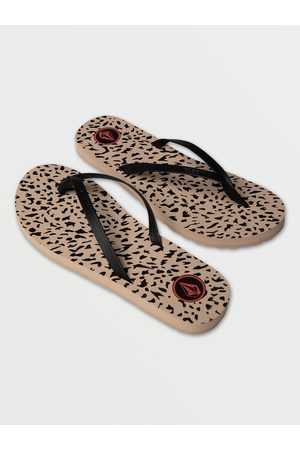 Volcom Women's Color Me Spring Sandals - Animal Print