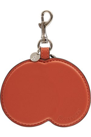 J.W.Anderson Leather Peach Key Ring
