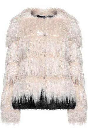 BLUE LES COPAINS Women Coats - COATS & JACKETS - Teddy coat