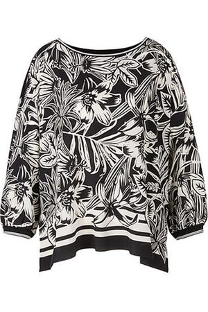 Marc Cain Women Tops - Print Top with Plain Back