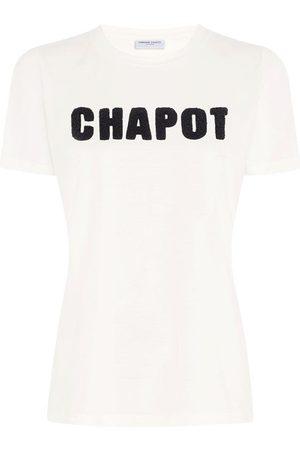 Fabienne Chapot Terry T-Shirt Cream