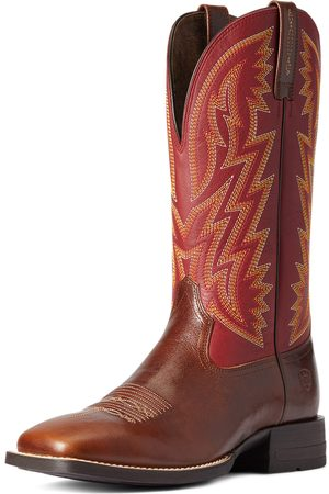 Ariat Men Cowboy Boots - Men's Dynamic Western Boots in Crest Leather