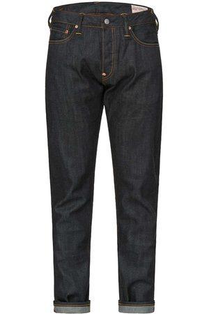 Evisu Contrast Pattern Embroidered Jeans