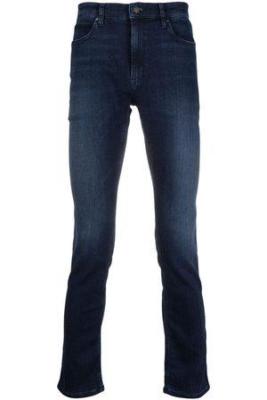 HUGO BOSS HUGO Logo-patch denim jeans