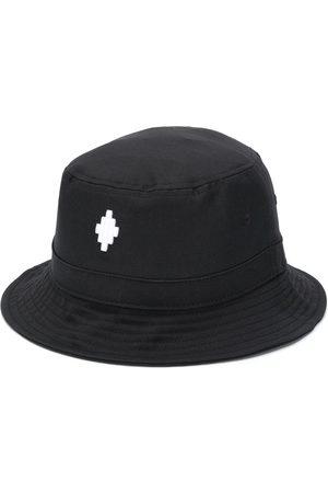 MARCELO BURLON Men Hats - Logo Bucket Hat