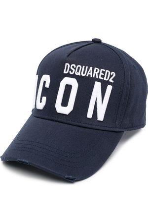 Dsquared2 Men Hats - Icon Logo Cap Navy