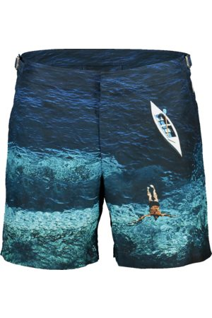 Orlebar Brown Bulldog Deep Sea Mid-Length Swim Shorts