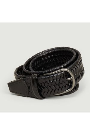 Anderson's Elasticated braided leather belt PL97 N1