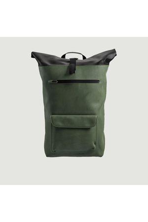 Brooks Brothers Men Rucksacks - Rivington cotton backpack 18 L FOREST