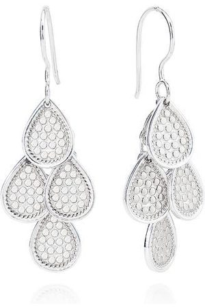 Anna Beck Chandelier Dotted Earrings - Sterling Silver