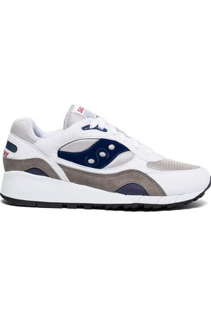 Saucony Shadow 6000 Trainers - White/Grey/Navy