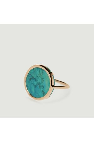 GINETTE NY Disc Ring Turquoise