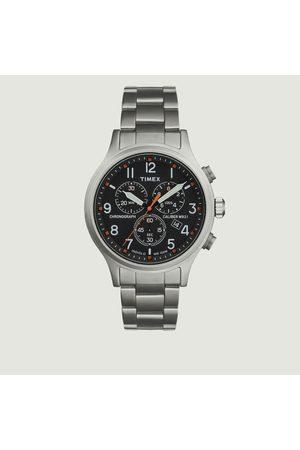 Timex Allied Chrono Watch Bead Blasted Black