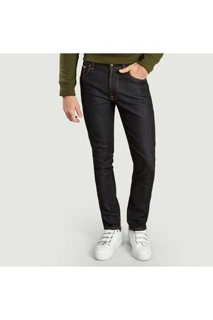Nudie Organic Cotton Lean Dean Japan Selvedge Jeans Dry Japan Selvedge Jeans
