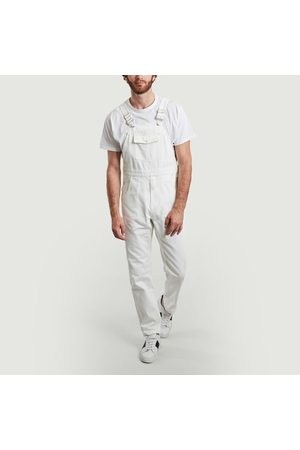 M.C.Overalls Tinted denim dungarees with pockets