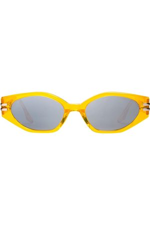 Gentle Monster Ghost oval frame sunglasses