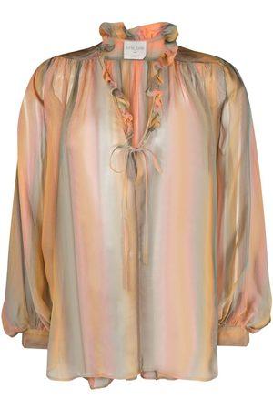 FORTE FORTE Watercolour-stripe blouse