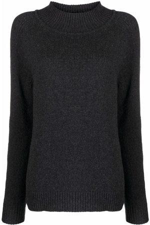 Filippa K Women Jumpers - Funnel-neck knit jumper - 1431 ANTHRACITE MELANGE