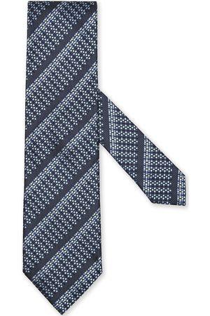 Ermenegildo Zegna Men Bow Ties - Silk jacquard diagonal-stripe tie