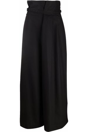 Y'S High-waisted wide-leg trousers