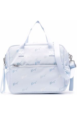 Kenzo Signature logo-print changing bag