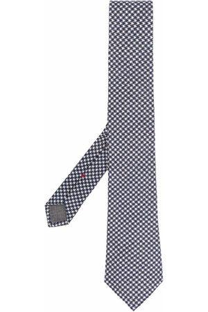 Brunello Cucinelli Houndstooth-print tie