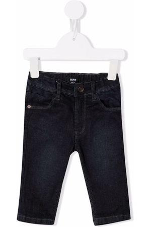 BOSS Kidswear Dark-wash skinny jeans