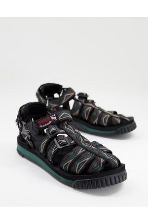 Shaka Hiker sandals in multi print