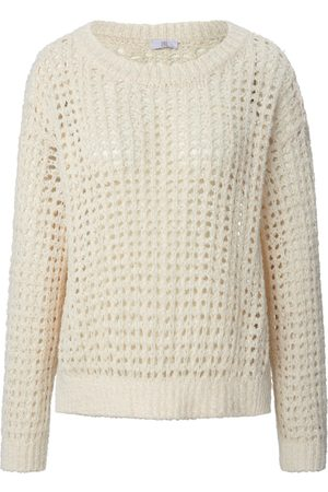 Riani Round neck jumper perforations size: 10
