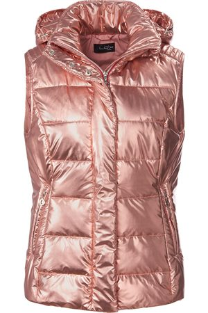 Looxent Quilted gilet stand-up collar bright size: 10