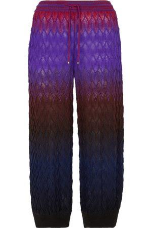 Missoni Women Joggers - Wool trackpants