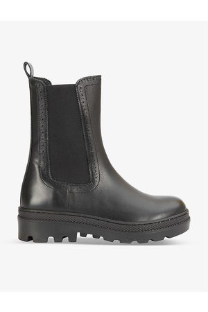CLAUDIE PIERLOT Women Boots - Alegria elasticated-panel leather boots