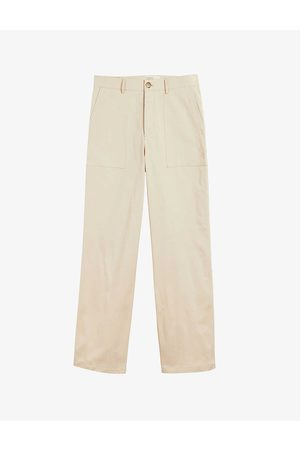 Ted Baker Butiee relaxed-fit cotton trousers