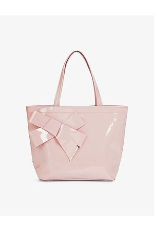 Ted Baker Women Shopper & Tote Bags - Nikicon bow-detail small icon bag