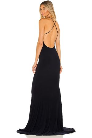 Norma Kamali X REVOLVE Low Back Slip Mermaid Fishtail Gown in . Size XS, S, M.