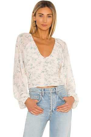 Free People New Final Rose Blouse in . Size XS, S, M, XL.